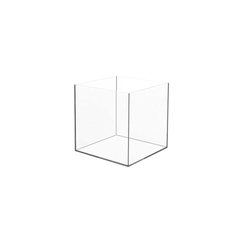Plexiglas kubus - stolp